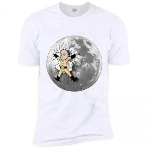 T-Shirt One Punch Man Saitama Pleine Lune S Official Dr. Stone Merch