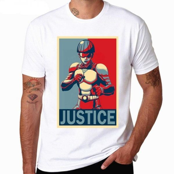 T-Shirt One Punch Man Roulettes Rider S Official Dr. Stone Merch
