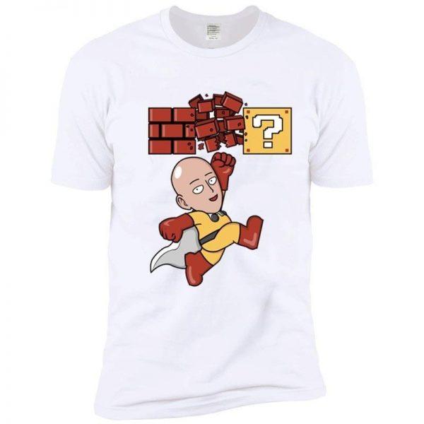 T-Shirt One Punch Man Saitama Mario Bros S Official Dr. Stone Merch
