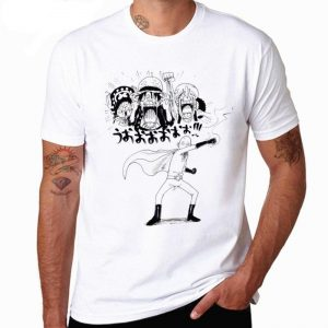 T-Shirt One Punch Man Saitama One piece S Official Dr. Stone Merch