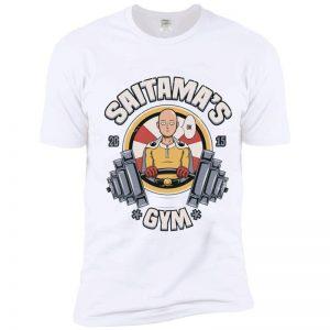 T-Shirt One Punch Man Saitama Gym S Official Dr. Stone Merch