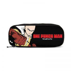 Trousse One Punch Man Saitama Wanpanman L24cm x H04cm x E10cm Official Dr. Stone Merch