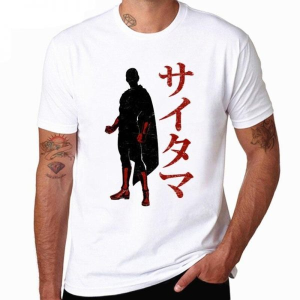 T-Shirt One Punch Man Saitama Shadow XS Official Dr. Stone Merch