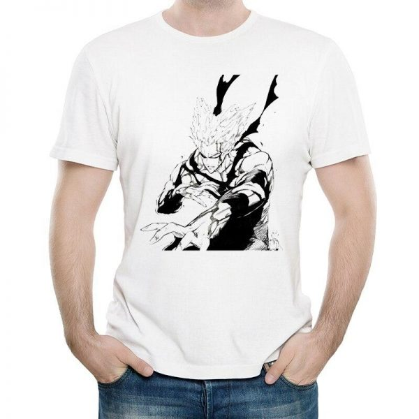 T-Shirt One punch man Garou monstre humain S Official Dr. Stone Merch