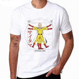 T-Shirt One Punch Man Saitama Vitruve S Official Dr. Stone Merch