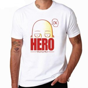 T-Shirt One Punch Man Héros XS Official Dr. Stone Merch