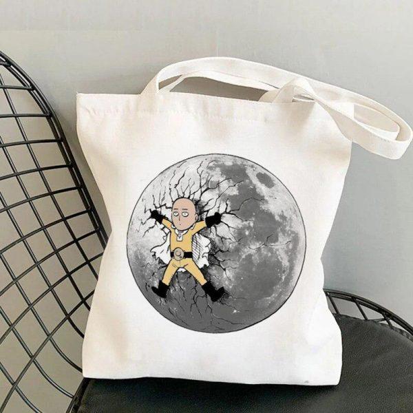 Tote Bag Pleine lune Toile résistante Official Dr. Stone Merch