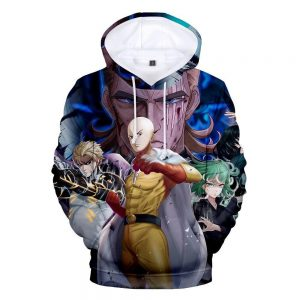 Sweat One Punch Man King XXS Official Dr. Stone Merch