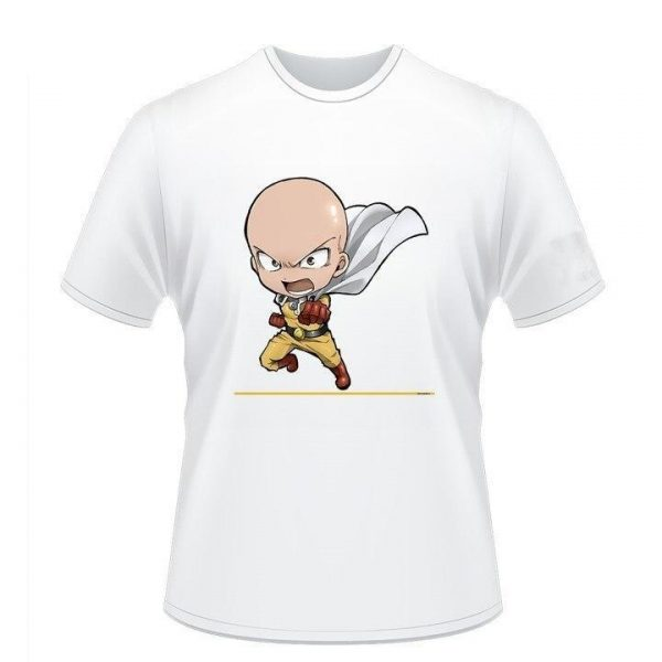 T-Shirt One Punch Man Saitama crie S Official Dr. Stone Merch