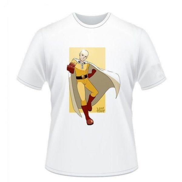 T-Shirt One Punch Man Saitama Job Héros S Official Dr. Stone Merch
