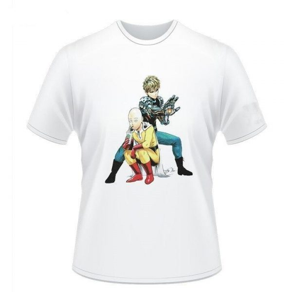 T-Shirt One Punch Man Saitama Fast Food S Official Dr. Stone Merch