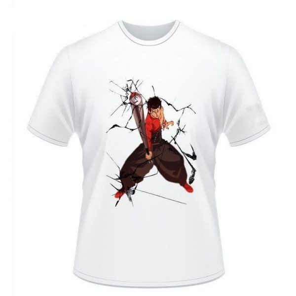 T-Shirt One Punch Man Batte Man (Kinzoku Batto) S Official Dr. Stone Merch