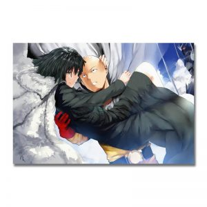 Poster Toile One Punch Man Saitama sauve Fubuki 30x45cm Official Dr. Stone Merch