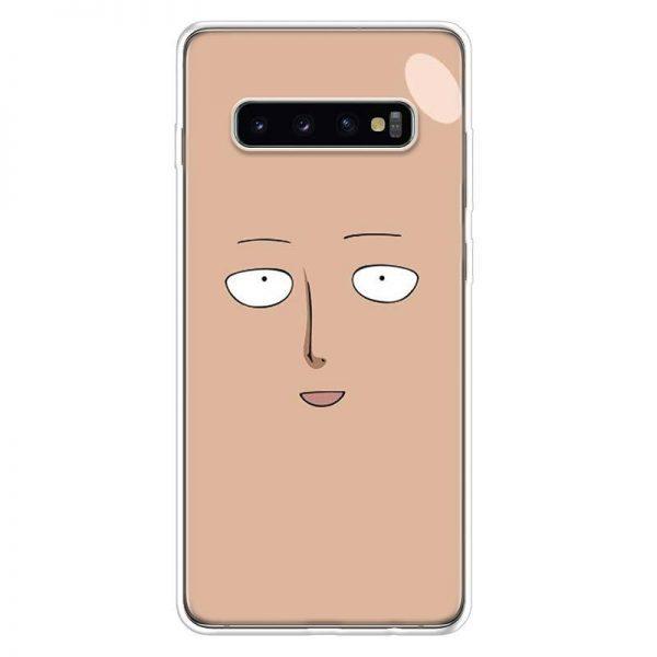 Coque One Punch Man Samsung Saitama Visage Samsung S7 Official Dr. Stone Merch