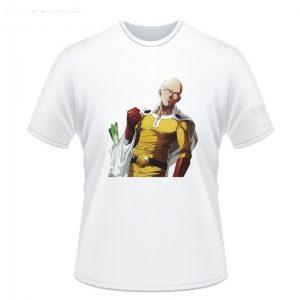 T-Shirt One Punch Man Saitama Course S Official Dr. Stone Merch