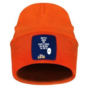 Bonnet One Punch Man Saitama sans visage Orange Official Dr. Stone Merch