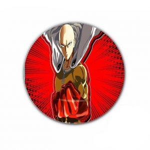Pin's One punch man Saitama Chauve capé 4,4cm Official Dr. Stone Merch