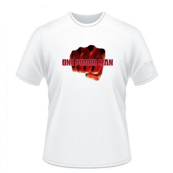 T-Shirt One Punch Man Saitama logo punch S Official Dr. Stone Merch