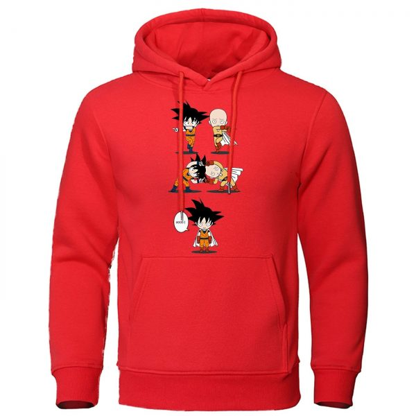 Sweat One Punch Man Saitama fusion Goku Rouge / S Official Dr. Stone Merch