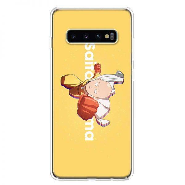 Coque One Punch Man Samsung Saitama Super Man Punch Samsung A51 Official Dr. Stone Merch