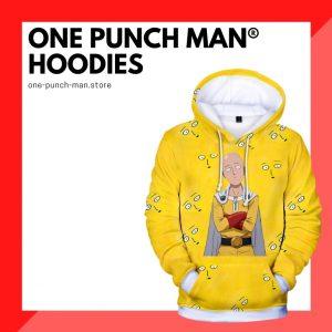 One Punch Man Hoodies