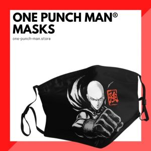 One Punch Man Face Masks