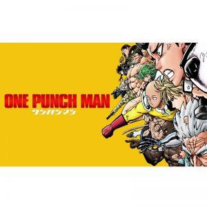 Poster One Punch Man Super Héros Classe S 40x50 cm Official Dr. Stone Merch