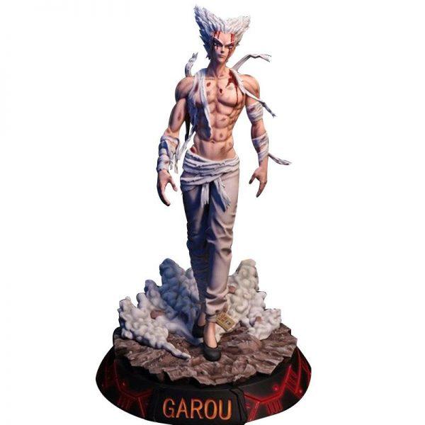 Figurine Collector One Punch Man Garou blessé (32cm) Figurine et Boîte Official Dr. Stone Merch
