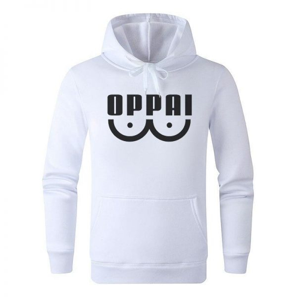 Oppai hoodie Blanc / S Official Dr. Stone Merch