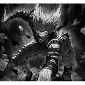 Poster One Punch Man Garou vs Orochi 40x50 cm Official Dr. Stone Merch