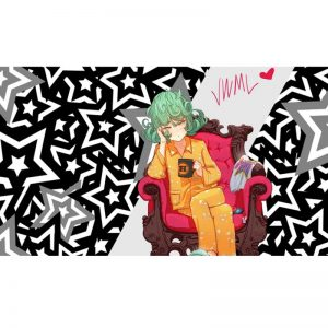 Poster One Punch Man Tatsumaki pyjama 40x50 cm Official Dr. Stone Merch