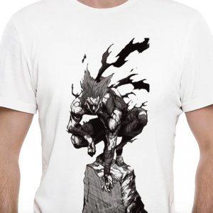 T-Shirt One Punch Man Garou Chasseur de héros S Official Dr. Stone Merch
