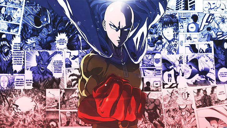 saitama one punch man anime wallpaper preview - One Punch Man Store