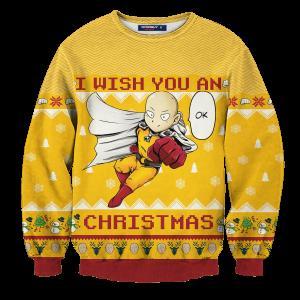 Ok Christmas Unisex Wool Sweater FDM0809 S Official One Puch Man Merch