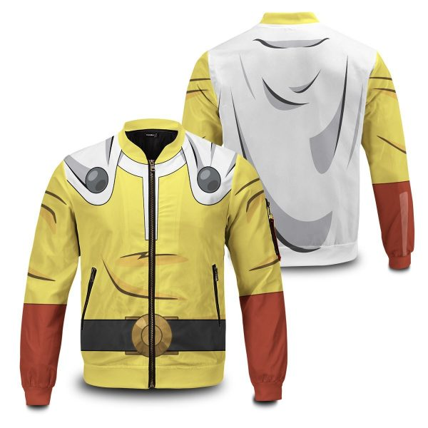 One Punch Bomber Jacket FDM0809 S Official One Puch Man Merch