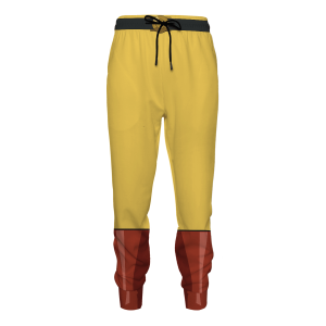 One Punch Hero Jogger Pants FDM0809 S Official One Puch Man Merch