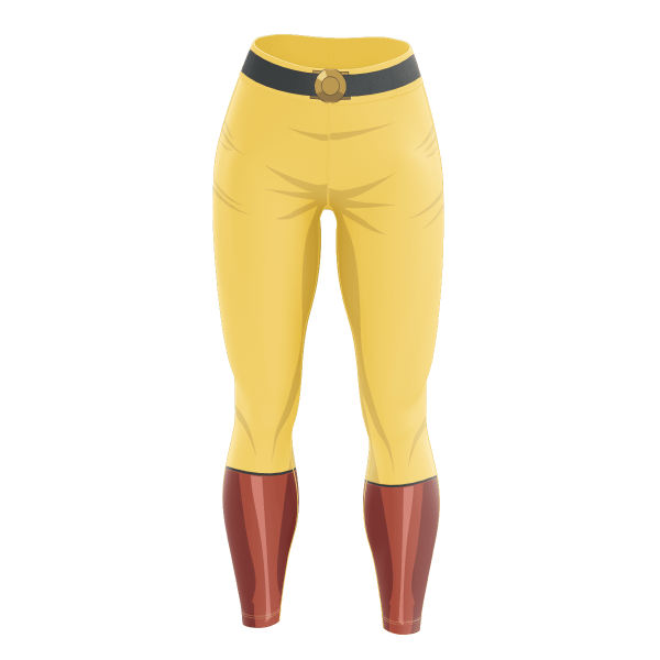 One Punch Hero Unisex Tights FDM0809 S Official One Puch Man Merch