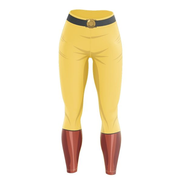 One Punch Hero Unisex Tights V2 FDM0809 S Official One Puch Man Merch