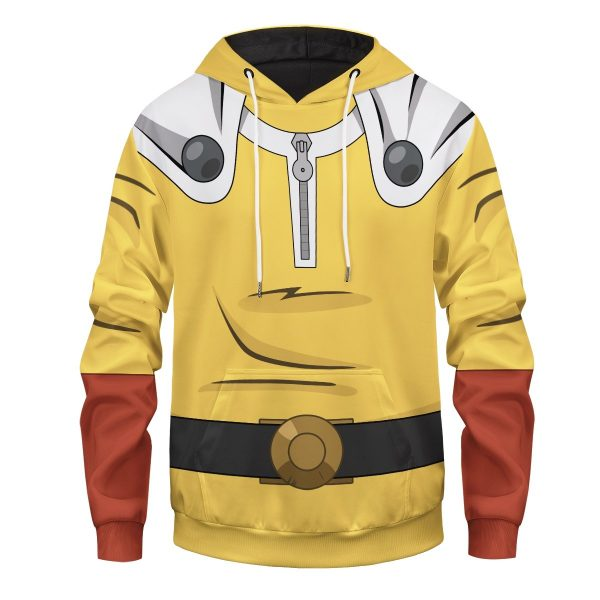 One Punch Unisex Pullover Hoodie FDM0809 S Official One Puch Man Merch
