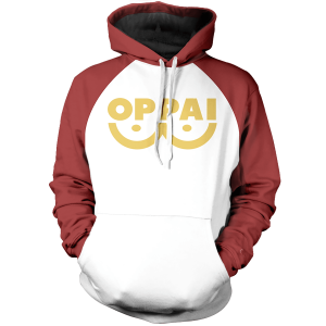 Oppai  Unisex Pullover Hoodie FDM0809 S Official One Puch Man Merch