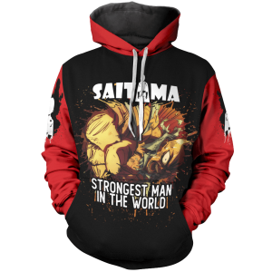 Strongest Man in the World Unisex Pullover Hoodie FDM0809 S Official One Puch Man Merch