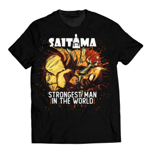 Strongest Man in the World Unisex T-Shirt FDM0809 S Official One Puch Man Merch